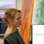 miriam sanders, kunst in het interieur, kunst, luxe kunst, exclusieve kunst, the art of living, event, woonbeurs, beurs voor wonen