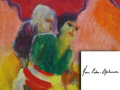 jan peter van opheusden, van opheusden, kunstenaar, schilderijen, high end kunst, luxe kunst, the art of living, event, woonbeurs, beurs voor wonen