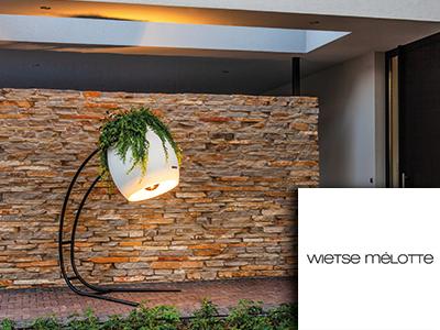 wietse melotte, buitenlamp, buitenverlichting, verlichting, design verlichting, the art of living, event, woonbeurs, beurs voor wonen