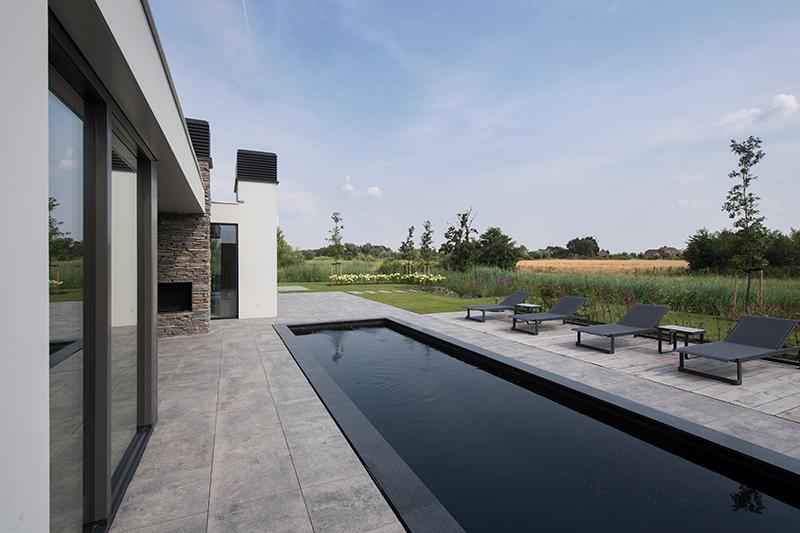 Natuursteen voor binnen en buiten, Natuurgevelsteen, natuursteen, strakke lijnen, interieur, exterieur