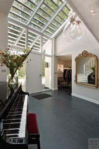 Moderne villa, Drijvers, Interieur, Exterieur, Moderne Architectuur, Villa, Modern interieur, Entree, Vide, Ruimtelijk wonen, Raamdecoratie