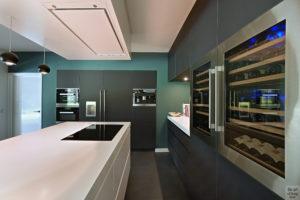 Moderne villa, Drijvers, Interieur, Exterieur, Moderne Architectuur, Villa, Modern interieur, Keuken, Moderne Keuken, Strakke Keuken, Kookeiland