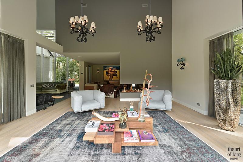 Moderne villa, Drijvers, Interieur, Exterieur, Moderne Architectuur, Villa, Modern interieur, Woonkamer, Livingroom, Design Meubels