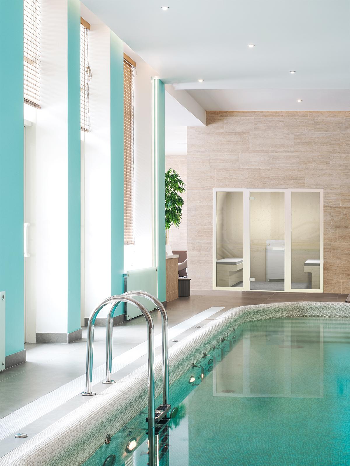 Prachtige stoomcabine, Cleopatra B.V., world of wellness, spa faciliteiten, luxe