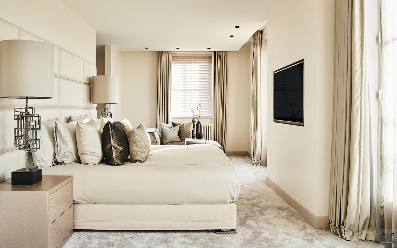 Exclusief interieur, Eric Kuster, Culimaat, Metropolitan Luxury, Master bedroom, hotel suite, Interieur, Luxueus interieur, Slaapkamer