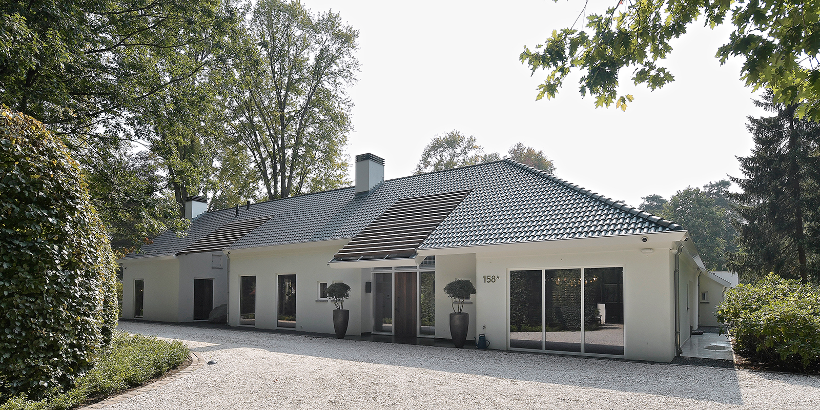 Moderne villa, Drijvers, Interieur, Exterieur, Moderne Architectuur, Villa, Modern interieur,