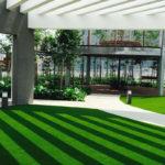 Kunstgras: de ideale oplossing voor een bedrijfstuin | Royal Grass, onderhoudsvriendelijk, realistisch, slimme technieken