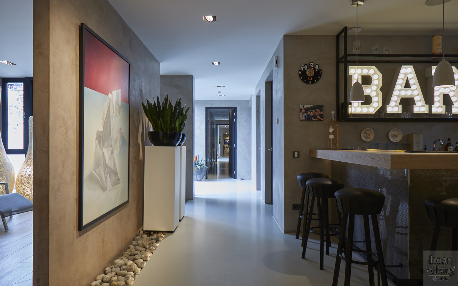 Boerderij villa, Piet Van Mierlo, Villa, Kunst, Hout, beton, Wellness@Home, Stalen deuren