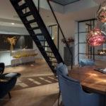 Luxe appartement, DENOLDERVLEUGELS, appartement, Stalen deuren, Witte badkamer