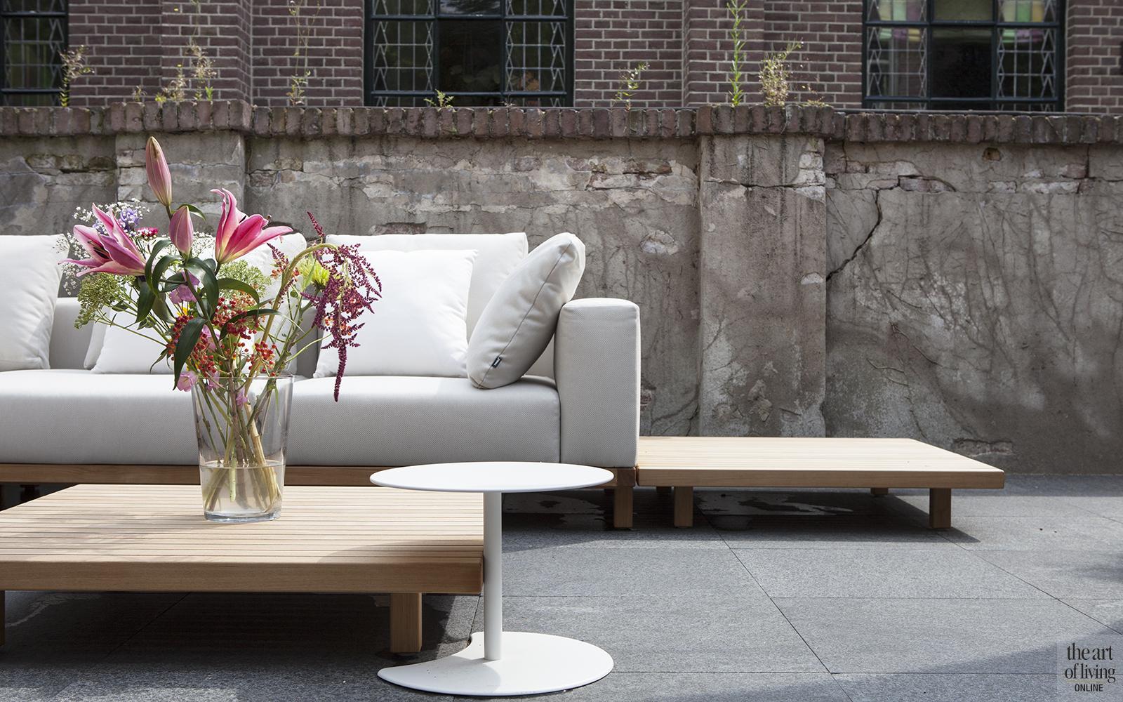Natuurlijke kleuren, Remy Meijers, Exterieur, lounge, tuinmeubelen, tuindesign