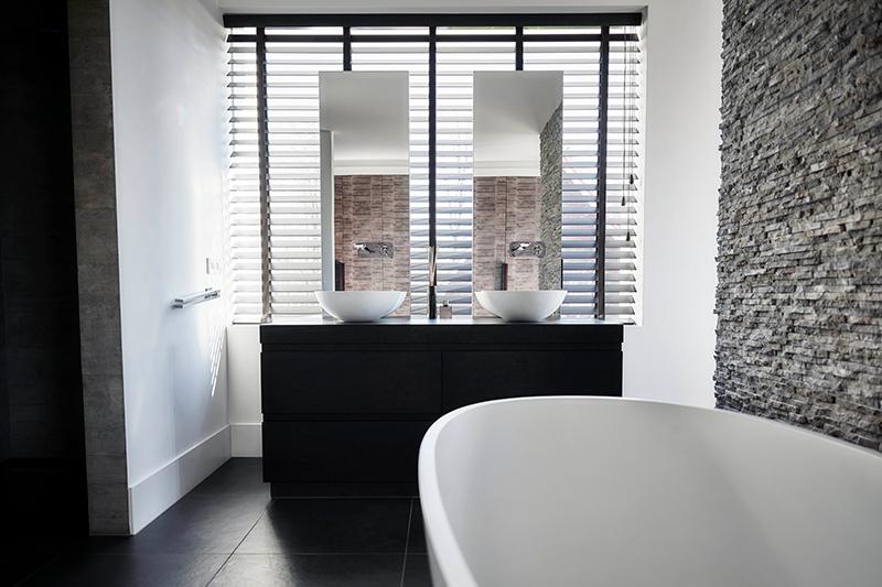 Nieuwbouwwoning, Bob Manders, ligbad, badkamer, lichtinval