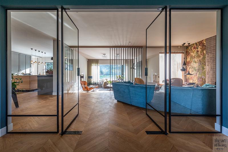 StalenDeurenHuys, taatsdeuren, stalen deuren, villa, stalen ramen, modern, landhuis
