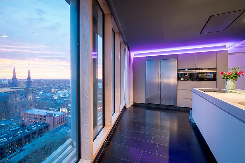 Loftwoning met modern interieur, B-TOO, Eindhoven, luxe, warm interieur