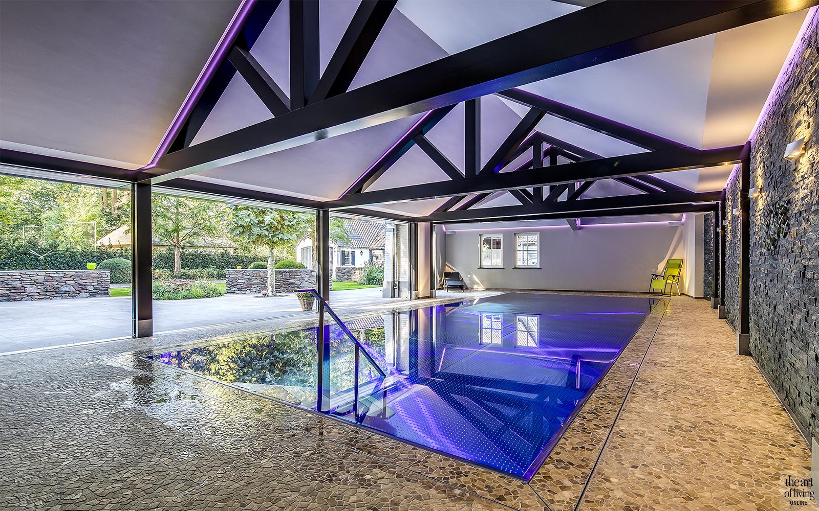 Landelijk wonen, Marco Daverveld, Villa, Boerderij, Zwembad, Landelijk interieur