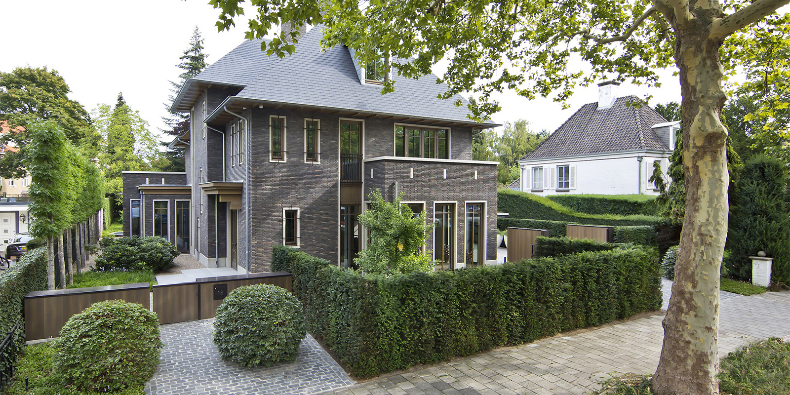 Groene tuin, Studio Siebers, Zwembad, Tuindesign, villa