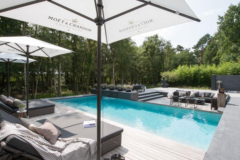 Studio Redd, tuinen, luxe, relaxen