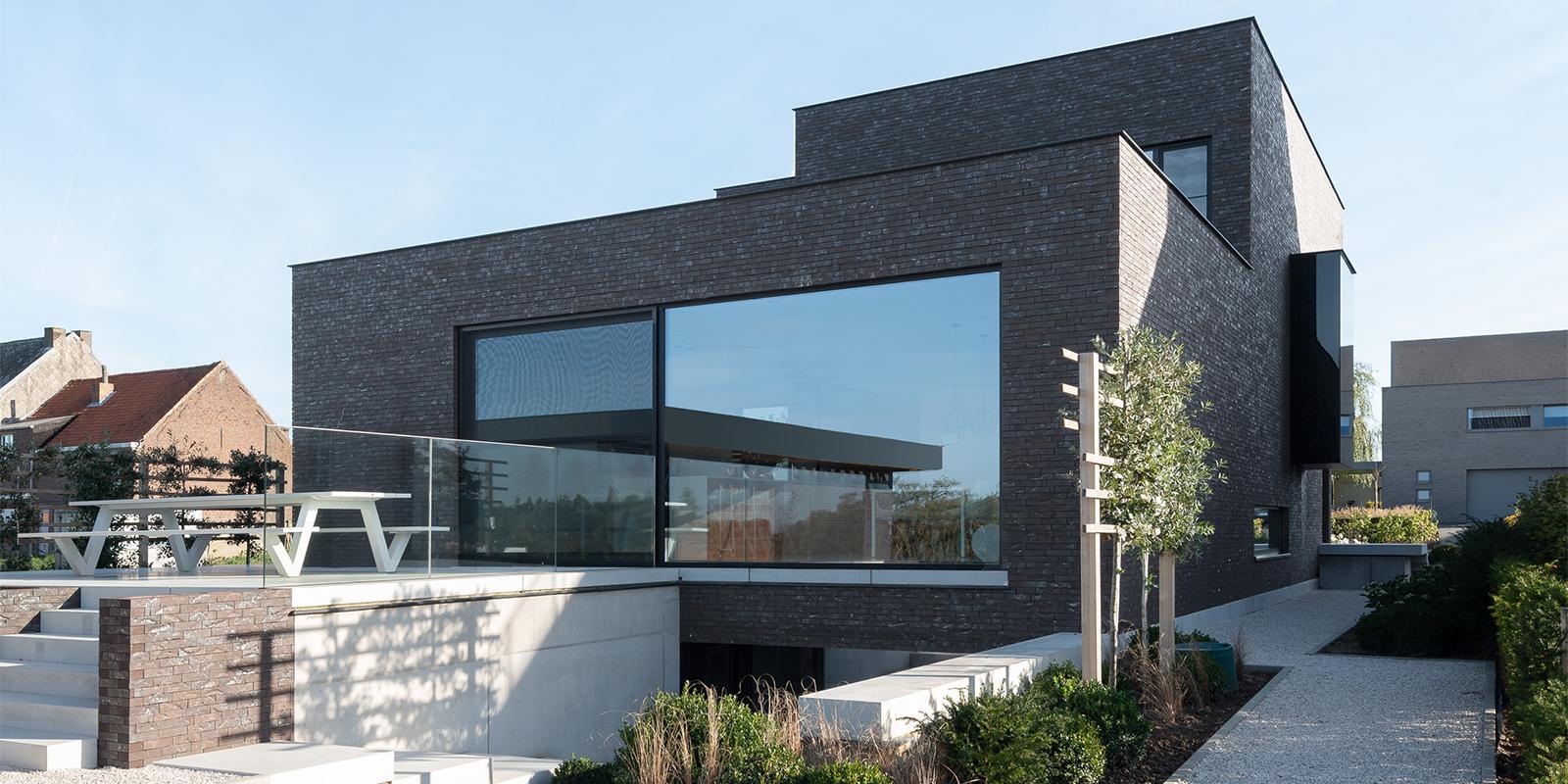 Thomas De Gier, Stadsvilla, Contrast, Strak, Modern, Interieur