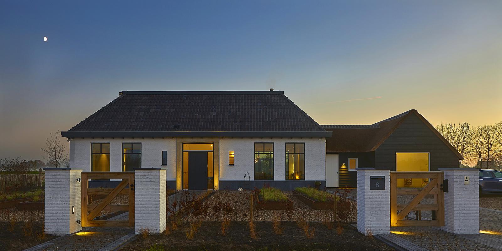 Landelijke stijl, Vermeer architecten, modern, villa