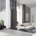 Natuurlijke kleuren, Remy Meijers, Woonkamer, living, Minimalistisch interieur, Design armaturen, Design verlichting, Wit interieur