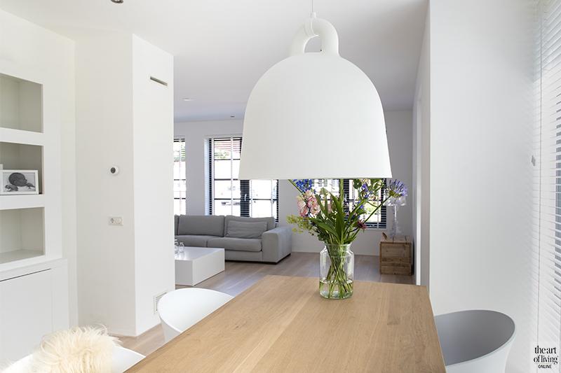 gezinswoning, A&R10, modern, landelijk, wit interieur, betonlook, houtelementen