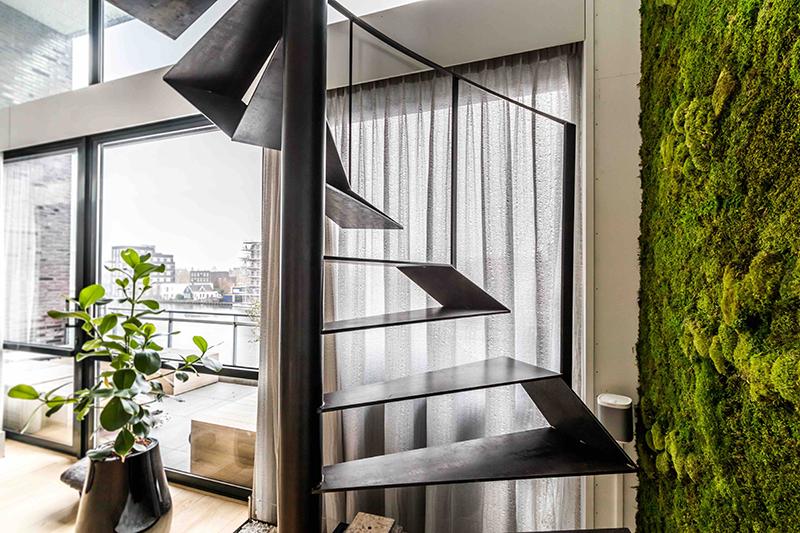 Stalen trap, van bruchem staircases, the art of living