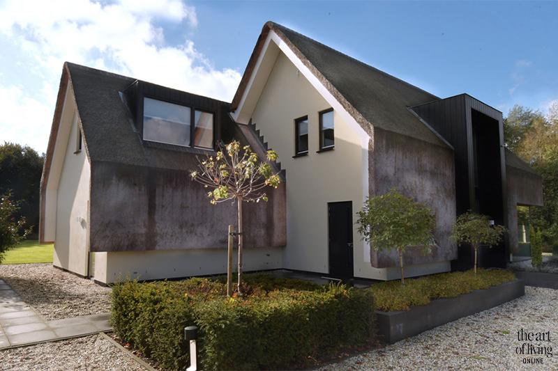 Rieten dak, Landelijk wonen, Exterieur, Landelijke architectuur, Rieten daken, Moderne architectuur, Landelijke stijl