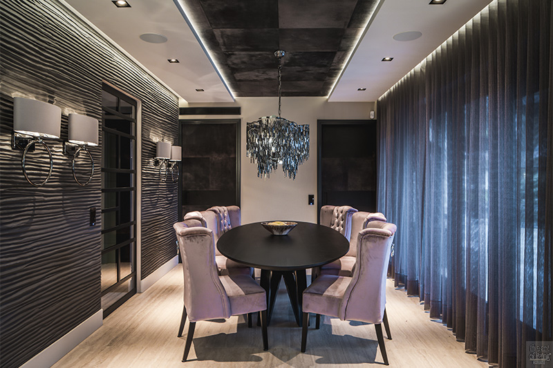 sfeervol wonen, Versteegh Design, glamorous, bar, wellness