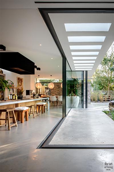 Mooie villa, Tom Kneepkens, Architect, Beplanting, Groen, Luxe, Raampartijen