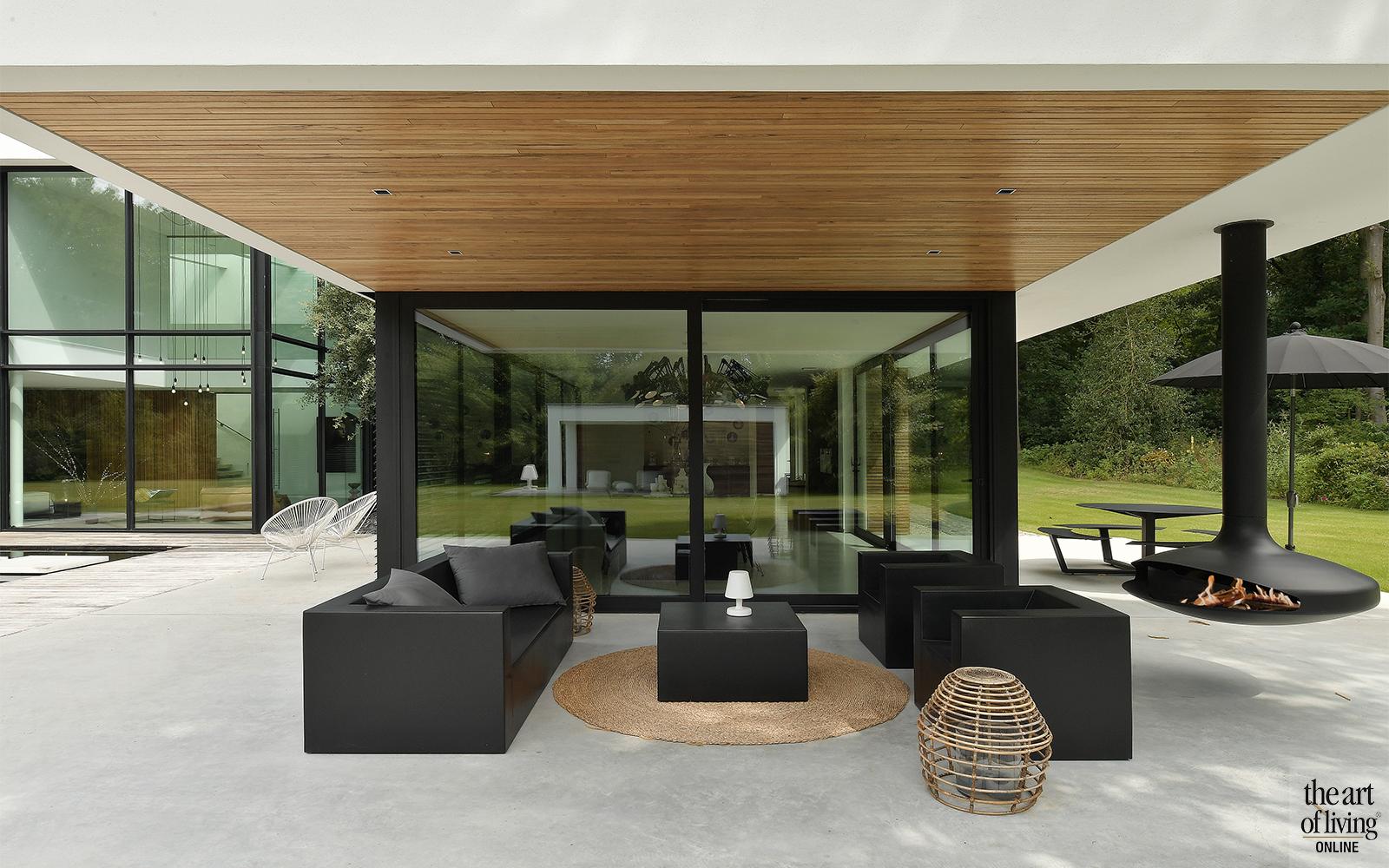 Terrasoverkapping, Inspiratie, Tuin inspiratie, Exterieur, Tuinen, Terras, Villa