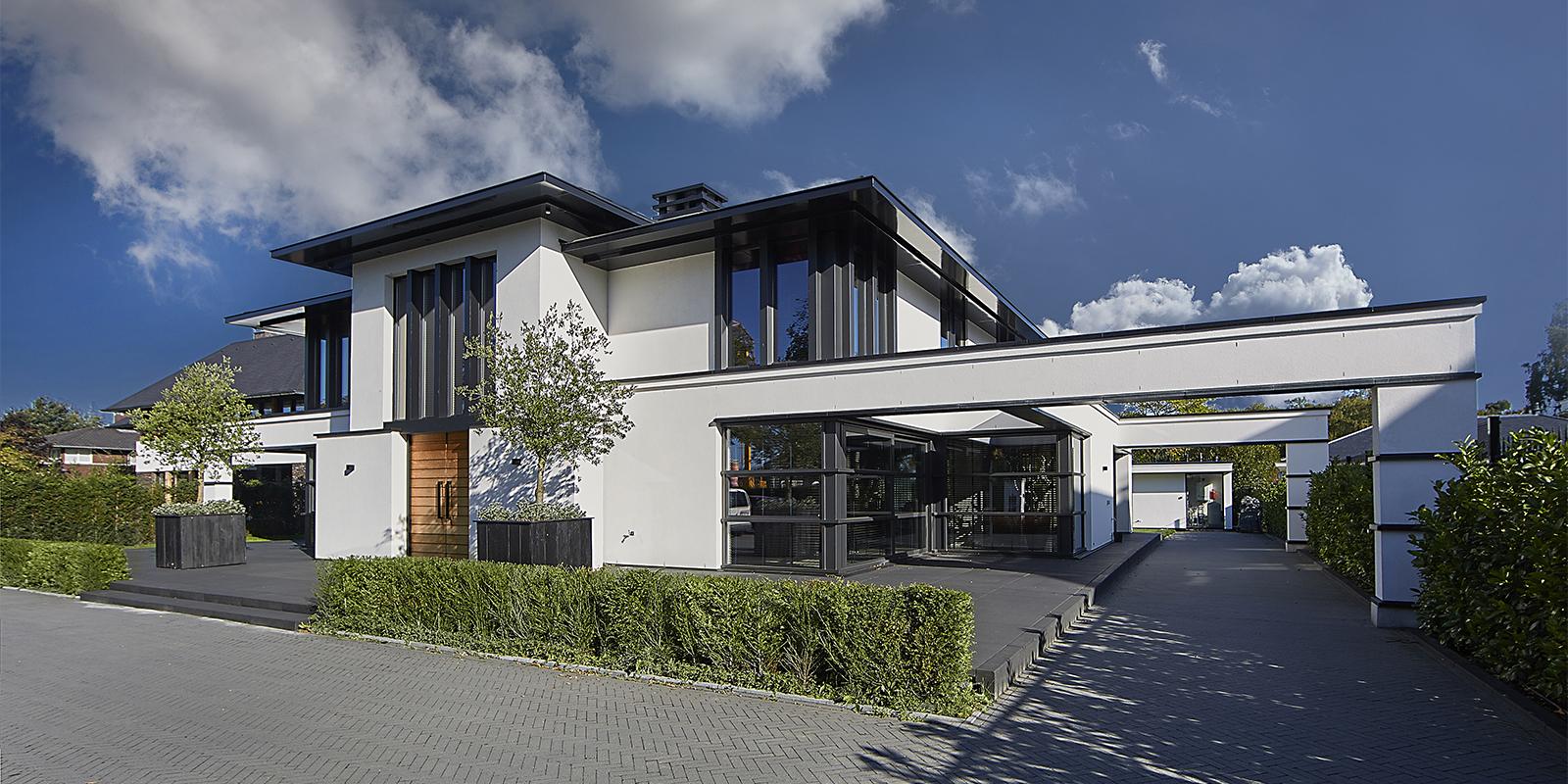 Moderne villa, Van der Linde Architecten, Zwembad, Modern, Eric Kuster