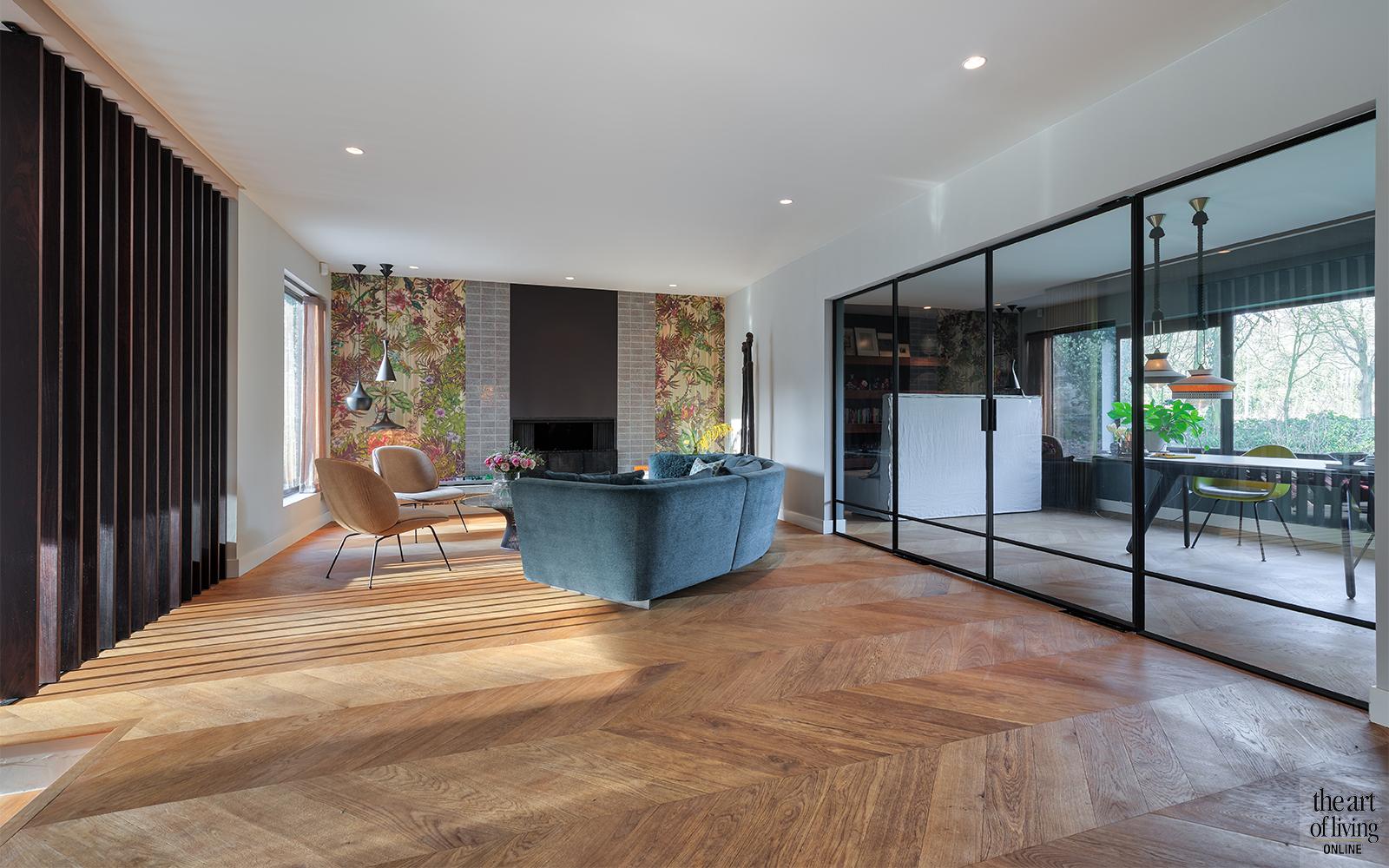 Visgraatvloer, Houten vloer, Sfeervol interieur, Vloeren, Designvloeren, Landelijk interieur, Strak interieur