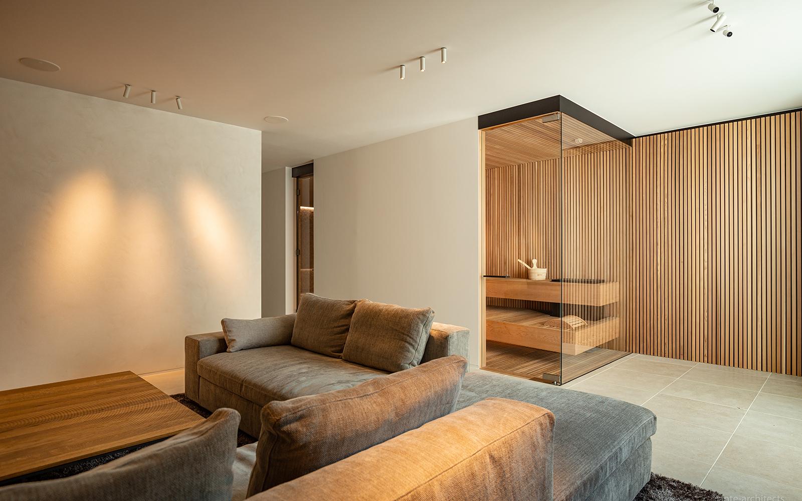 Alpha Industries, Indoor Sauna, Wellness