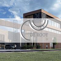 Experience center, nieuwe bedrijfspand, De Rooy metaaldesign, stalen deuren, staal