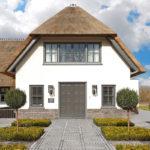 Modern landhuis, Van Dinther Bouwbedrijf, landgoed, open haard, zwembad in kelder, ontspanning