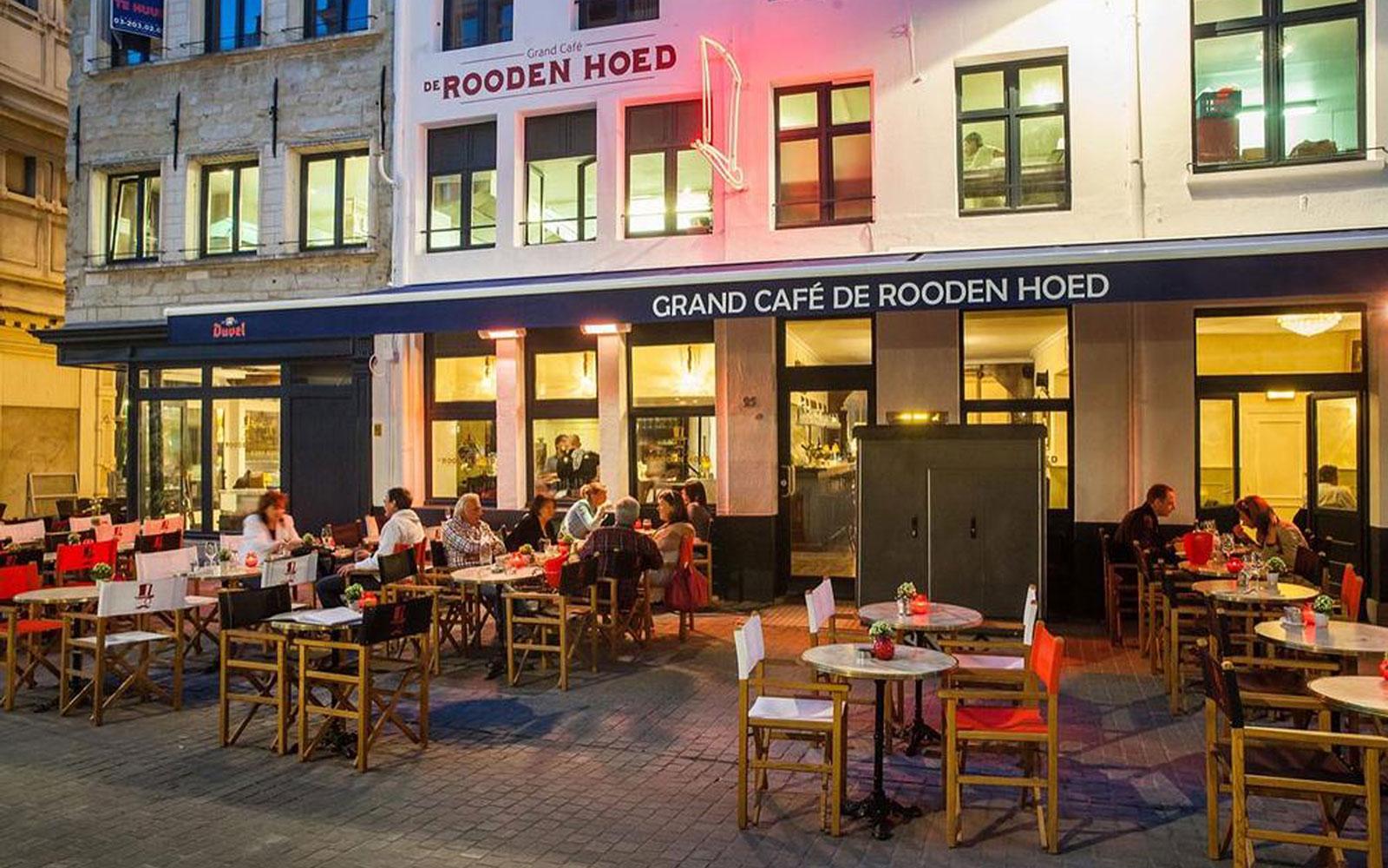 Moderne kroonluchter, Haagse kunsthandel, kristallen, Decoratie, Café, Antwerpen