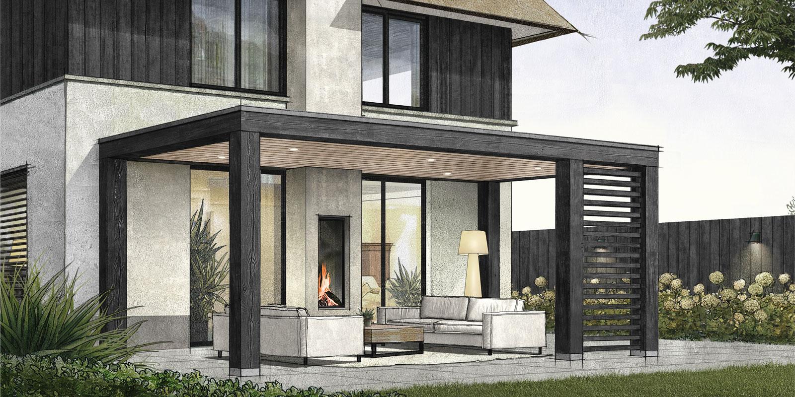 Bronkhorst Buitenleven, exclusieve buitenverblijven, tuin, vakspecialisten, berging, poolhouse, veranda