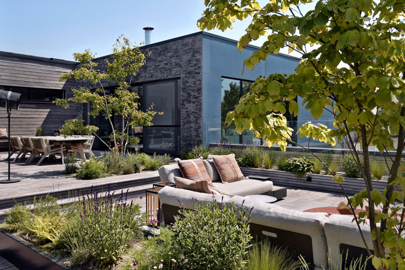 Dakterras, trivium, tegels, vloer, exclusief, penthouse, studio redd