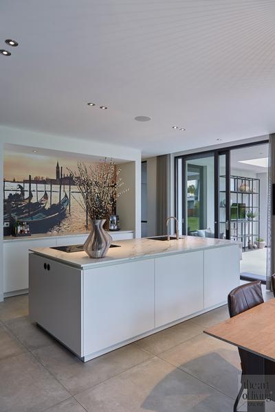 Design haard, Boley, Keuken, Witte keuken, Keuken design, Strakke keuken, Moderne keuken