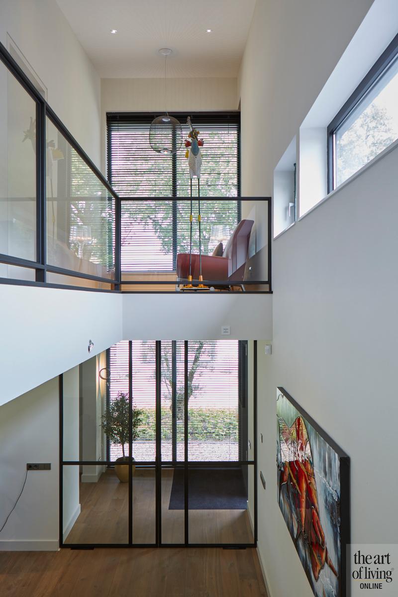 Design haard, Boley, Stalen deuren, Stalen deur, Vide, Houten vloer, Woonkamer, Living, Interieur design