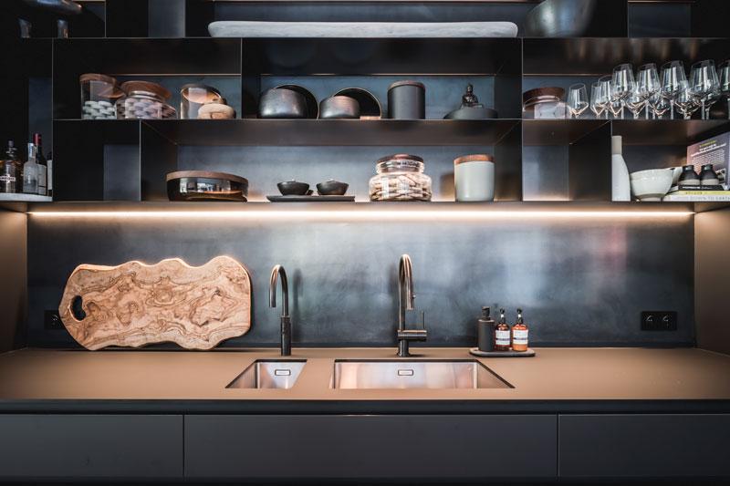 Design keuken, Culimaat, high-end kitchens, wit-zwart, modern, exclusief, luxe