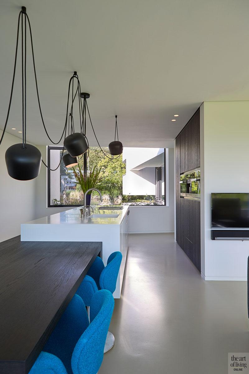 moderne keuken, culimaat, witte keuken, modern interieur
