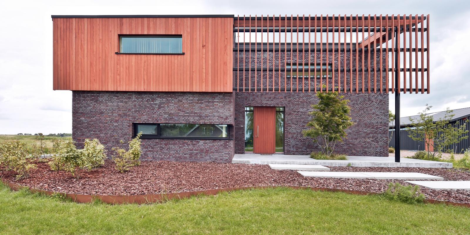 Natuurlijke omgeving, 123DV Architecten, Exterieur, Gevelbekleding, Houten gevel, Tuindesign, Architectuur