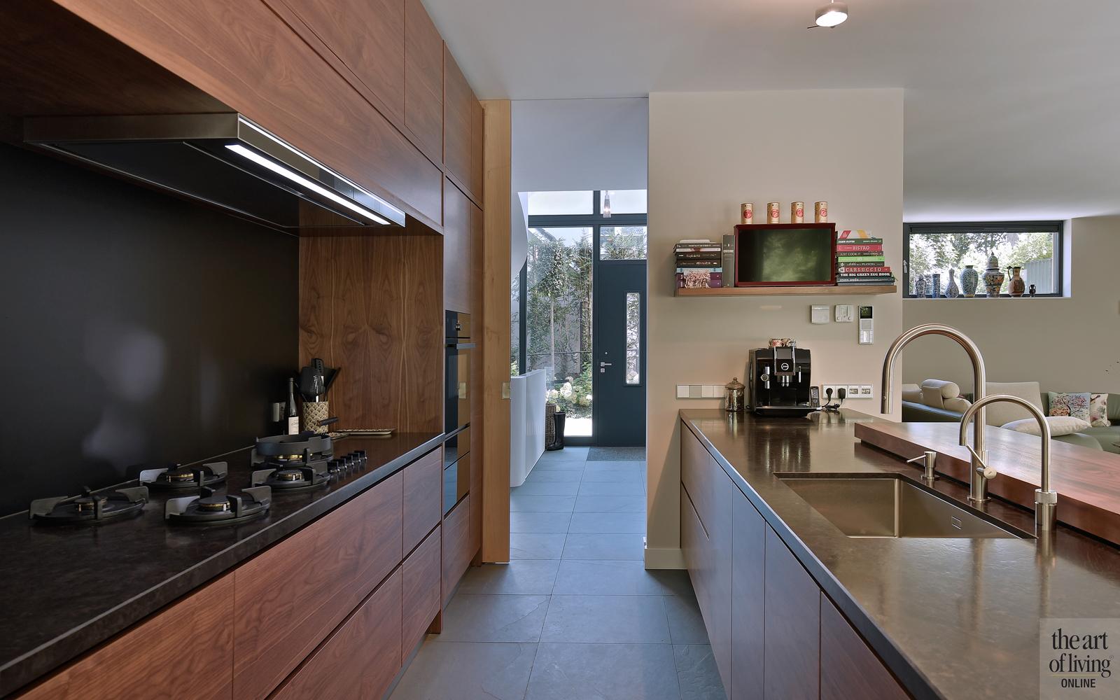 Werkblad in de keuken, Cosentino, Houten keuken, Marmer, Modern