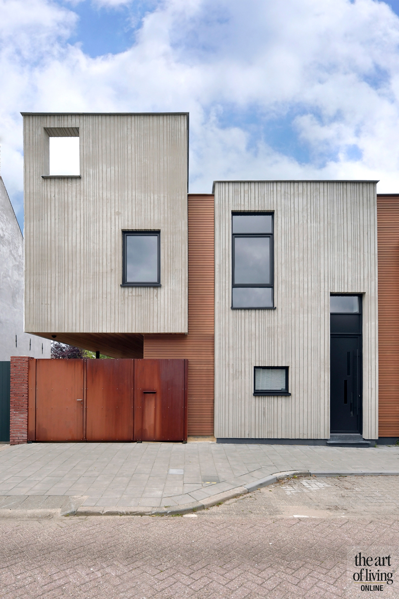 Zwart-wit keuken, Zone Zuid Architecten, Exclusief hout, Moderne inrichting, Industrieel