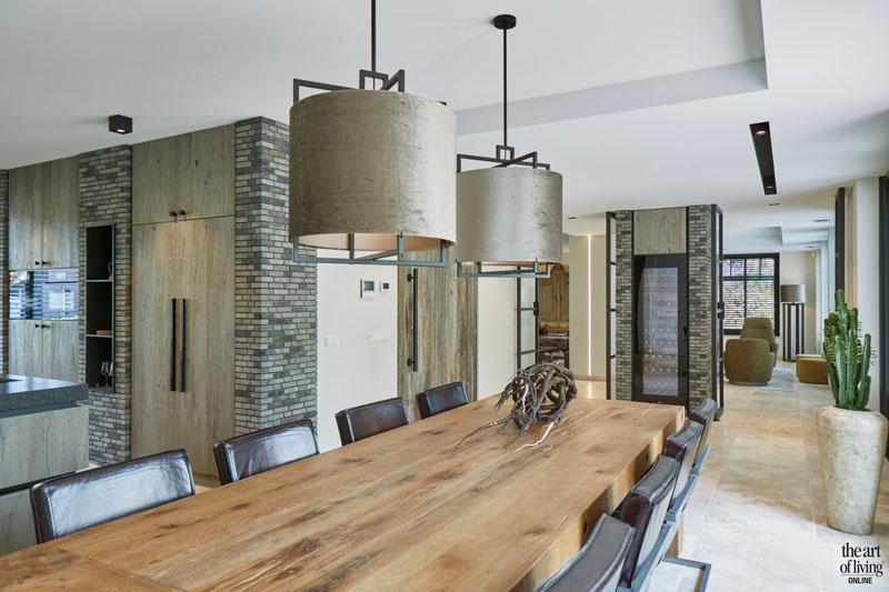 Boerderij, Marco Daverveld, Interieurdesign, Landelijk interieur, Landelijk wonen, Design meubels, Warm interieur, Keuken, Keukendesign, Design Keuken, Strakke keuken, moderne keuken