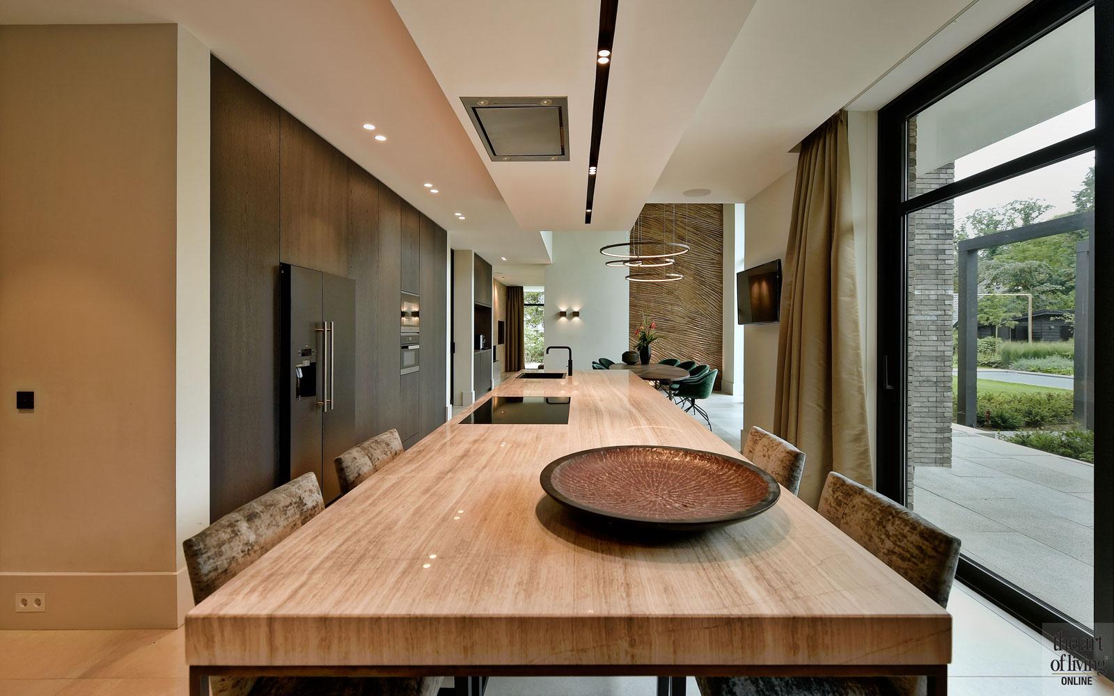 Droomhuis, Marco van Veldhuizen, Keuken, werkblad keuken, strakke keuken, maatwerk keuken, keuken design, Verlichting