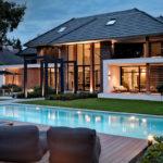 Droomhuis, Marco van Veldhuizen, Entree, Voordeur, Entrance, Exterieur, Moderne villa, tuindesign, tuinontwerp, zwembad, villa met zwembad