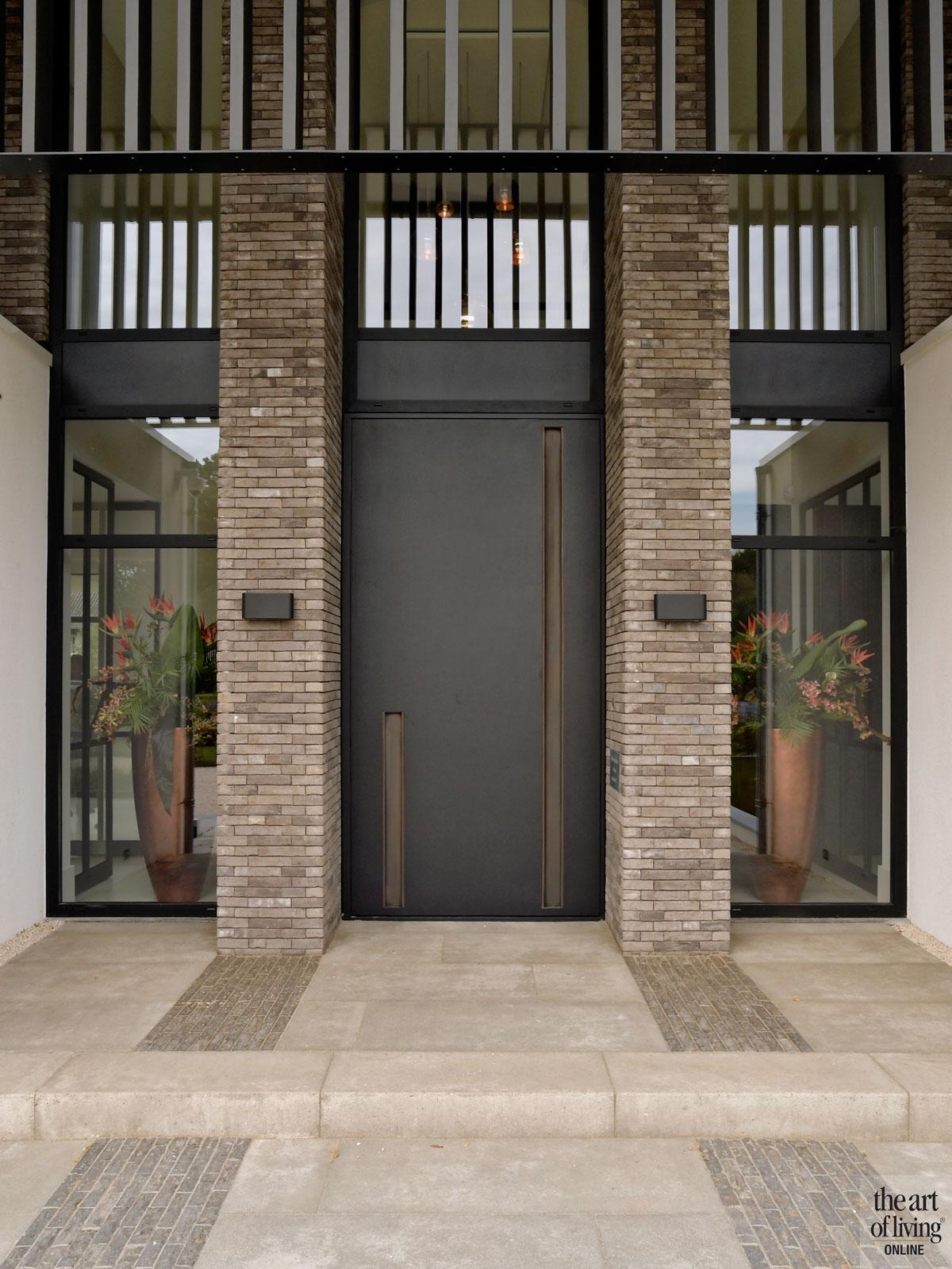 Droomhuis, Marco van Veldhuizen, Entree, Voordeur, Entrance, Exterieur, Moderne villa