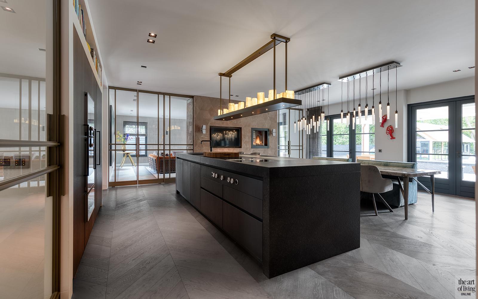 High end interieur, Herman Peters, High end interieur, Herman Peters, Keuken, design keuken, werkblad keuken, maatwerk keuken, keuken op maat
