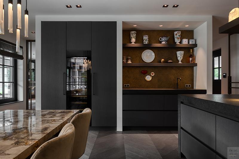 High end interieur, Herman Peters, High end interieur, Herman Peters, Keuken, design keuken, werkblad keuken, maatwerk keuken, keuken op maat, eettafel, dining area, maatwerk kast